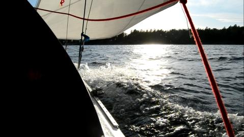 segling på mysingen